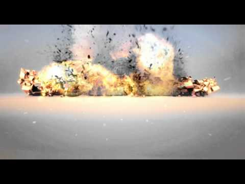 Cinema 4D destruction FX