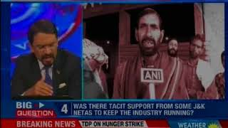 Pelters outsourced to U.P, 'they offer case, job lures; will J&K netas accept truth? — Nation at 9 - NEWSXLIVE