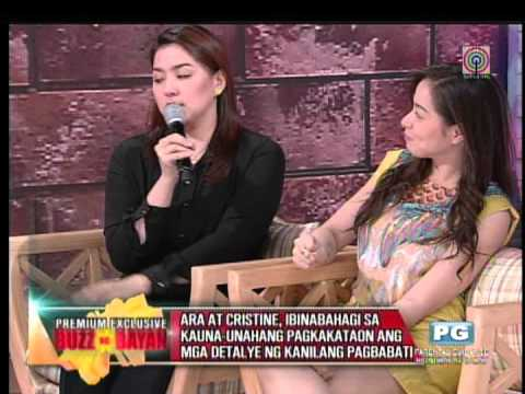 How Cristine Reyes, Ara Mina patched things up