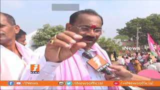 TRS Kusukuntla Prabhakar Reddy Speed Election Campaign After KCR Meeting | Munugode | iNews - INEWS