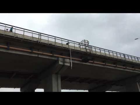 热气球专用低空旅游体验跳伞器材首次实验成功视频