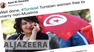 Tunisia lifts ban on Muslim women marrying non-Muslims - ALJAZEERAENGLISH