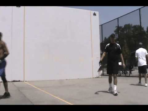handball vs paddleball   #2    bay 8 th brooklyn  coney island