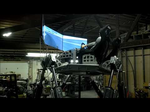 Sim-zilla MX-1000 racing simulator