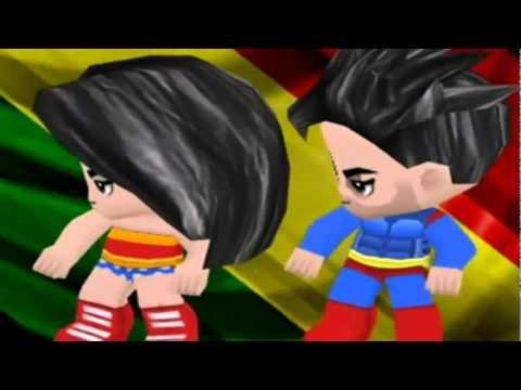 Leva Noiz   Liga da Justia Foge Mulher Maravilha Clip BuddyPoke!