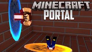 PORTAL 2 - Minecraft Прохождение Карты