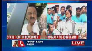 Tamil Nadu: Mamata Banerjee to join MK Stalin on state-wide tour - NEWSXLIVE