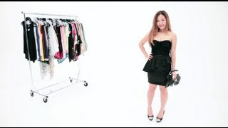 Dresing Up the Little Black Dress !! Super Trendy Look For Fall !!