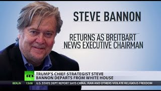 Bannon Banned: Trump fires controversial chief strategist - RUSSIATODAY