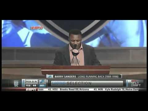 Detroit Lions Pick Titus Young (Pick 44) NFL Draft 2011