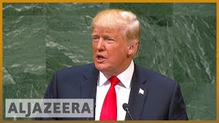 🇺🇸 Trump lauds his 'extraordinary' achievements at General Assembly | Al Jazeera English - ALJAZEERAENGLISH