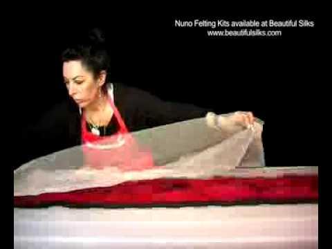 Beautiful Silks: Nuno Felting