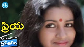 Priya Movie Scenes - Radhika Gifts A T-shirt To Chandra Mohan || Chiranjeevi - IDREAMMOVIES