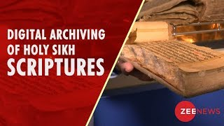 Library begins digital archiving  of holy Sikh scriptures in Amritsar - ZEENEWS
