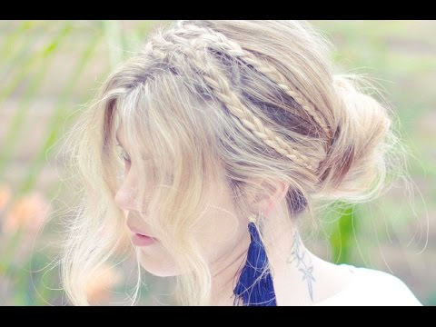 Pretty Rope Braids Hair tutorial + Updo or Downdo.m4v