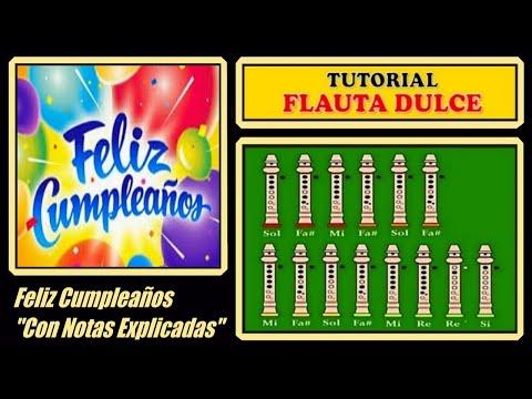 Feliz Cumpleaños en Flauta