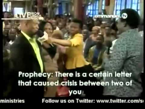 TB Joshua. Prayer & Prophecy 20 01 2013
