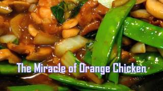 Royalty FreeBackground:The Miracle of Orange Chicken