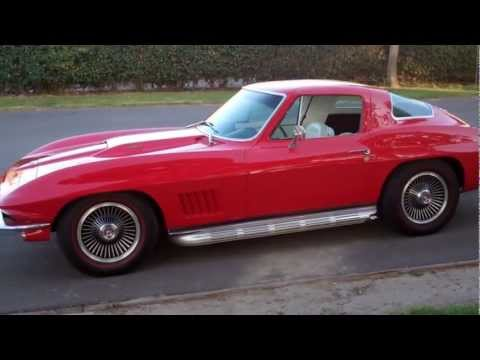 SOLD C2 1967 Chevrolet Corvette 427/400hp Coupe Rally Red for 4 sale by Corvette Mike