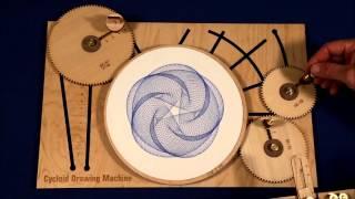 Maquina para crear dibujos geométricos