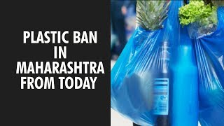 Plastic ban in Maharashtra comes into effect from today - ZEENEWS