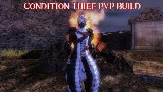"""Guild Wars 2 - Condition Thief PvP Build: The """"MITY"""" p-d/p-d."""