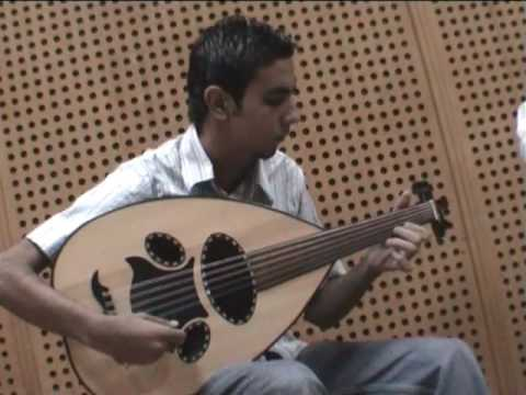 Learn Oud by Dr. Atef Abdel Hameed  مداعبه موسيقيّه