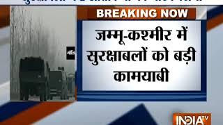 जम्मू-कश्मीर: सुरक्षाबलों ने 2 आतंकियों को मार गिराया - INDIATV