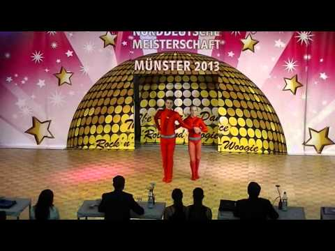 Melina Schäfer & Fabian Teufl - Norddeutsche Meisterschaft 2013