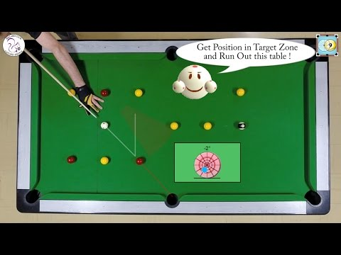 BlackBall Exercise #18 - Run Out 4 Balls Drill 2 - Pool & Billiard Training Lesson
