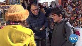 Popular Outdoor Market Exudes Holiday Spirit - VOAVIDEO