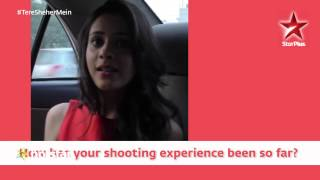 Tere Sheher Mein - An up close and personal interview with Amaya Mathur! - STARPLUS