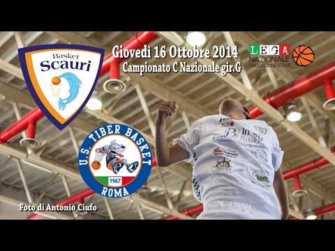 Basket DNC 2 Scauri -  Tiber Roma