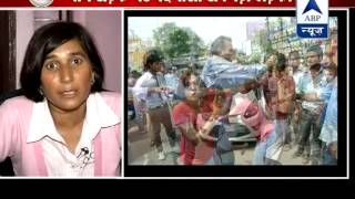 My first aim was to save my husband from assailants: Meerut's braveheart  to ABP News - ABPNEWSTV