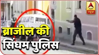 Jewellery thief takes elderly man hostage, gets shot by police in Brazil| Top 50 - ABPNEWSTV