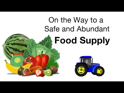 On the Way to a Safe and Abundant Food Supply