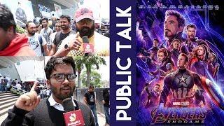 AVENGERS ENDGAME Public Review in Hyderabad || Avengers End game public talk || IndiaGlitz Telugu - IGTELUGU