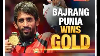 Indian wrestler Bajrang Punia wins Gold in Asian Games 2018 - NEWSXLIVE