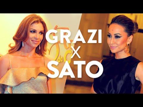Ringue de estilo: Grazi Massafera x Sabrina Sato