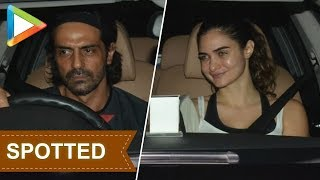 SPOTTED: Arjun Rampal with his girlfriend - HUNGAMA