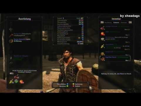 Arcania: Gothic 4 [XBOX 360] Demo Walktrough by xheadagx Part:1/6