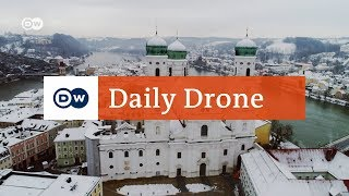 #DailyDrone: St. Stephen's Cathedral, Passau | DW English - DEUTSCHEWELLEENGLISH