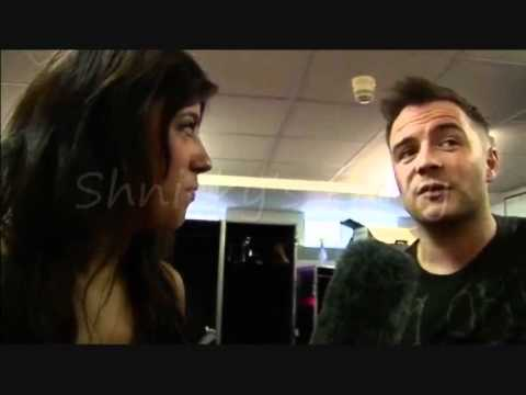 Westlife Shane Filan Backstage at the O2 blueroom 2010 (Part 2)