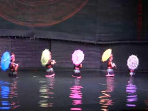 Water Puppet Show in Hanoi - Vietnam Travel