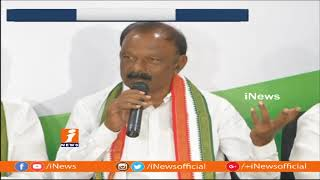AP PCC Chief Raghuveera Reddy Comments On CM Chandrababu Naidu Dharma Porata Deeksha | iNews - INEWS