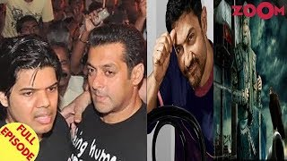 Salman Khan gets mobbed by fans at Jaipur airport | Aamir unveils Big B's 1st look of 'TOH' & more - ZOOMDEKHO