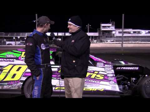 Joel Bushore Modified Feature winner 05/11/13