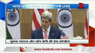India, America 'indispensable partners' : John Kerry - ZEENEWS