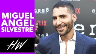 Sense8's Miguel Angel Silvestre Speaks From the Heart About Castmates! - HOLLYWIRETV