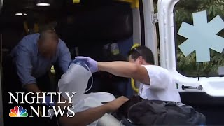 Massive Emerg. Response In Connecticut Park After At Least 42 Suspected Overdoses | NBC Nightly News - NBCNEWS